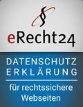 Siegel für die Datenschutzerklärung